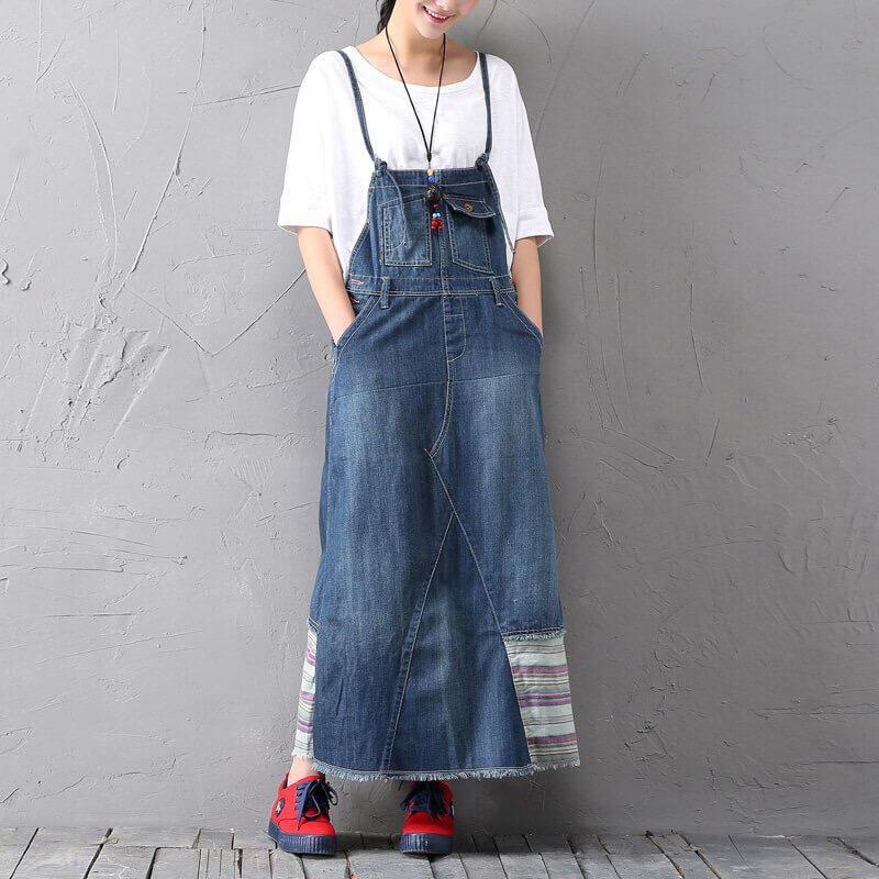 Модные сарафаны А-силуэта