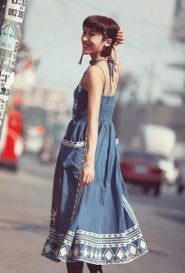 Сарафаны лето 2017 - уличная мода