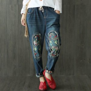 Модные джинсы – бананы