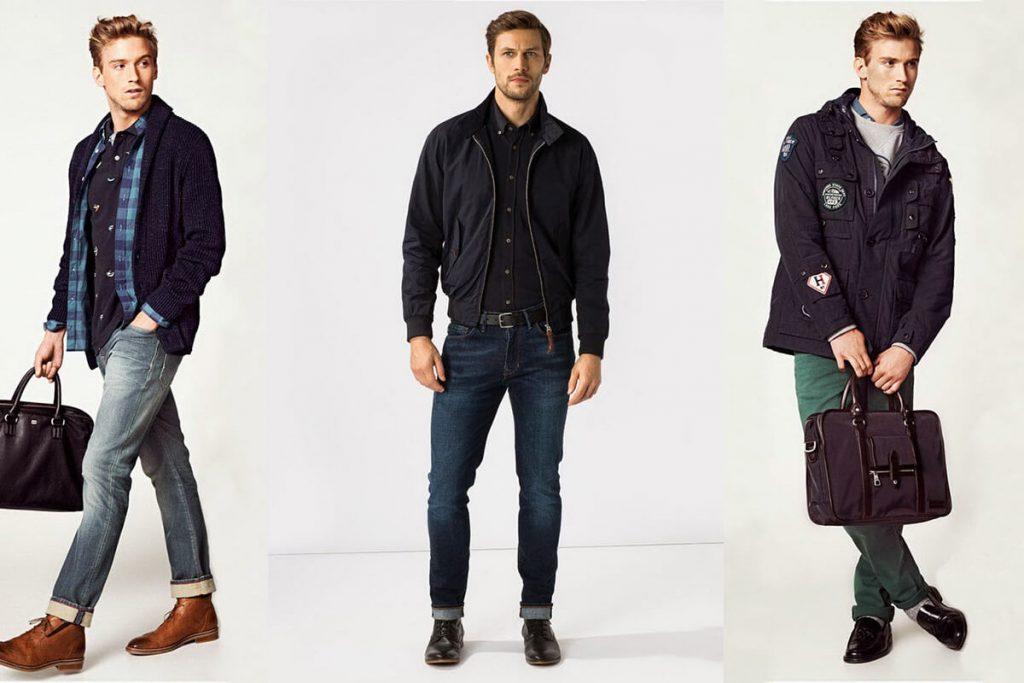Модные классические джинсы