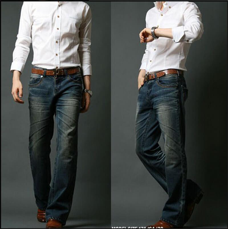 Модные джинсы–клеш