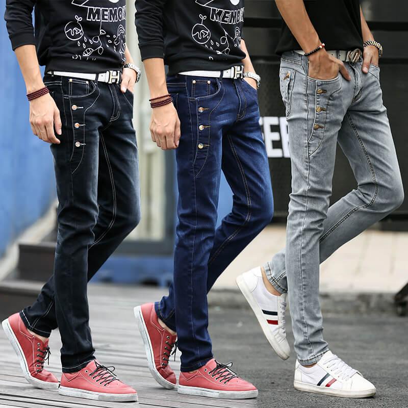 Модные мужские джинсы 2017 - фасоны и цвета