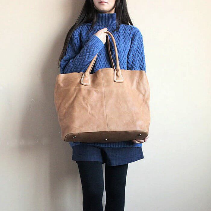 С чем носить сумку шоппер?