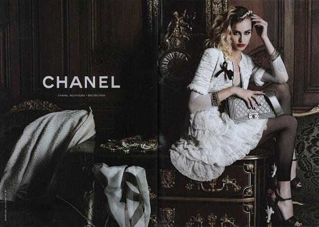 История создания сумки Chanel Boy