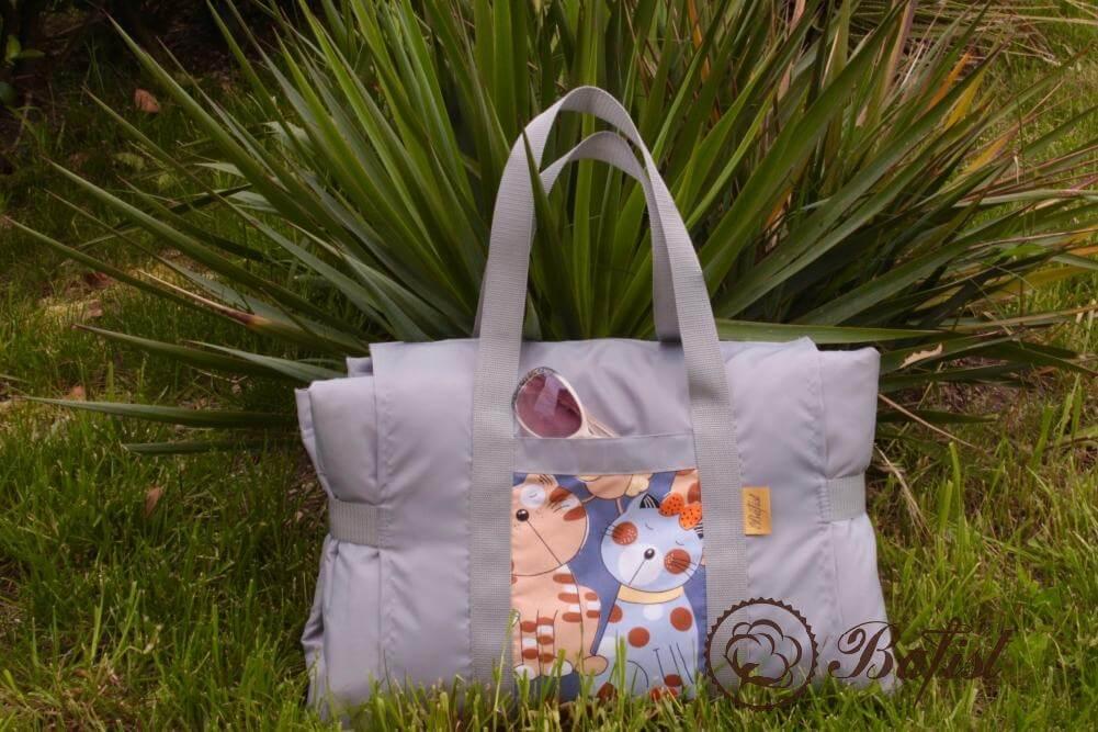 Оригинальная пляжная сумка своими руками 36