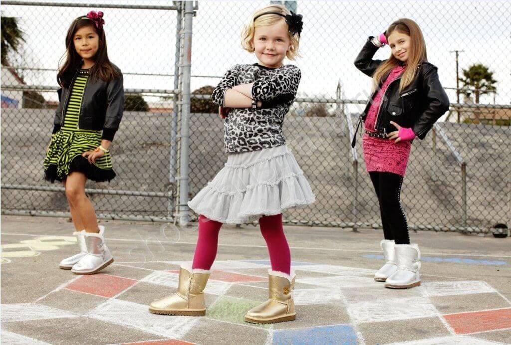 На что смотреть при выборе детских сапожек угг