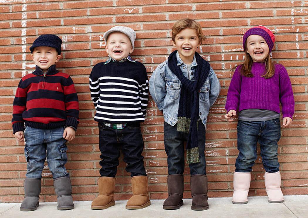 Как выбрать натуральные детские угги
