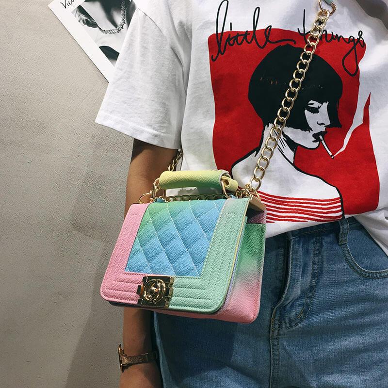 С чем носить сумку?