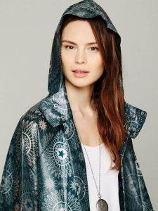 Дождевик прозрачный по типу куртки