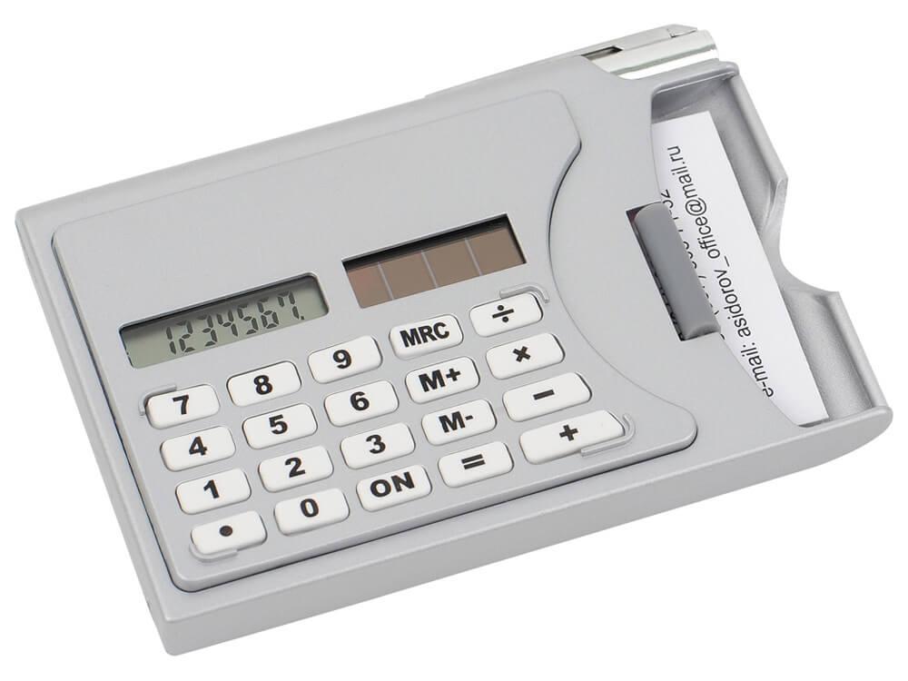 Визитница-калькулятор