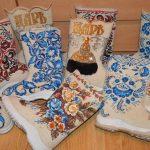 Белые валенки – обувь из натуральной шерсти