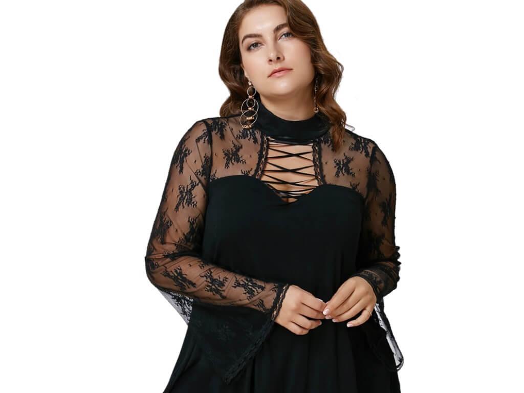 Гипюровые блузки – как создать романтичный образ (обзор)