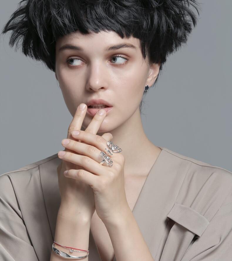 Модные колечки на пальцы