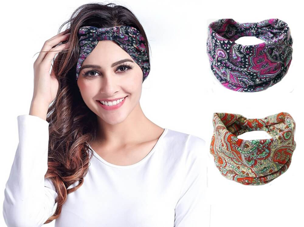 Летние повязки на голову для женщин своими руками 7