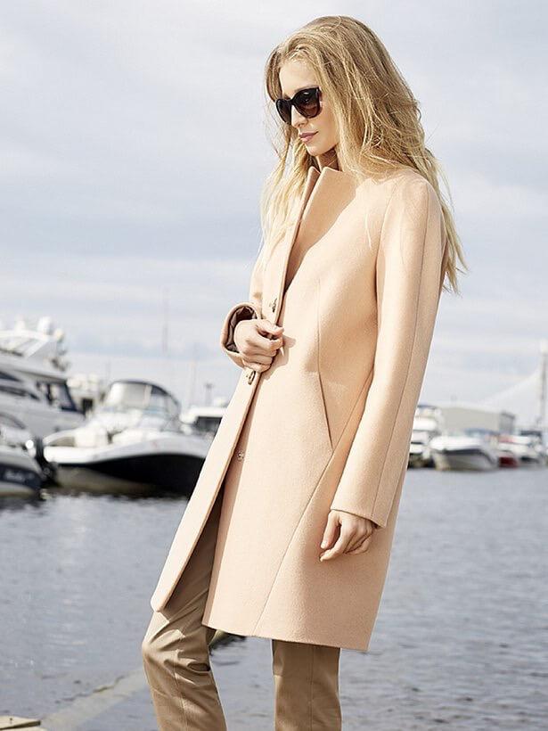 a6bfd618ff3 Женское кашемировое пальто  уличная мода 2017-2018 года (обзор)
