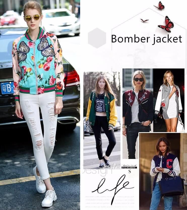Кофта бомбер - повседневная мода 2018