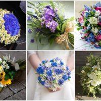 Полевые цветы для оформления букетов: маки, васильки, ромашки, колокольчики