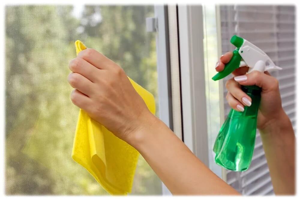 Всё о мытье пластиковых окон