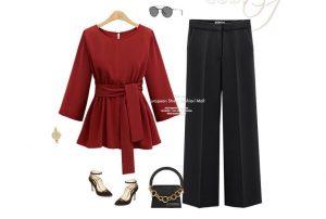 Блузка с баской – выбираем стильный образ