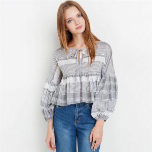 Полосатые блузы