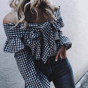 Блуза по типу рубахи