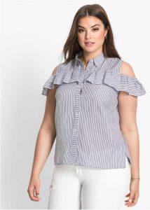 Атласные блузы