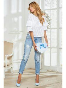Блузка с воланами - мода 2018 (обзор)