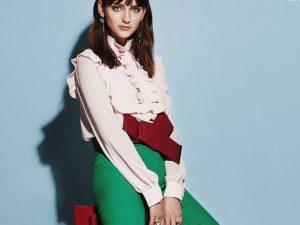 Комбинированные женские блузки