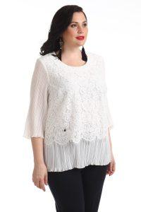 Блузы с плиссировкой