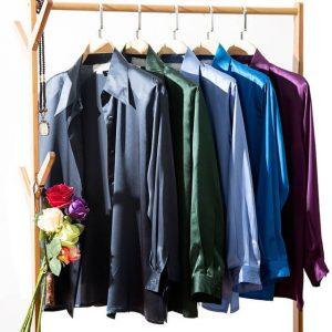 блуза из натурального материала