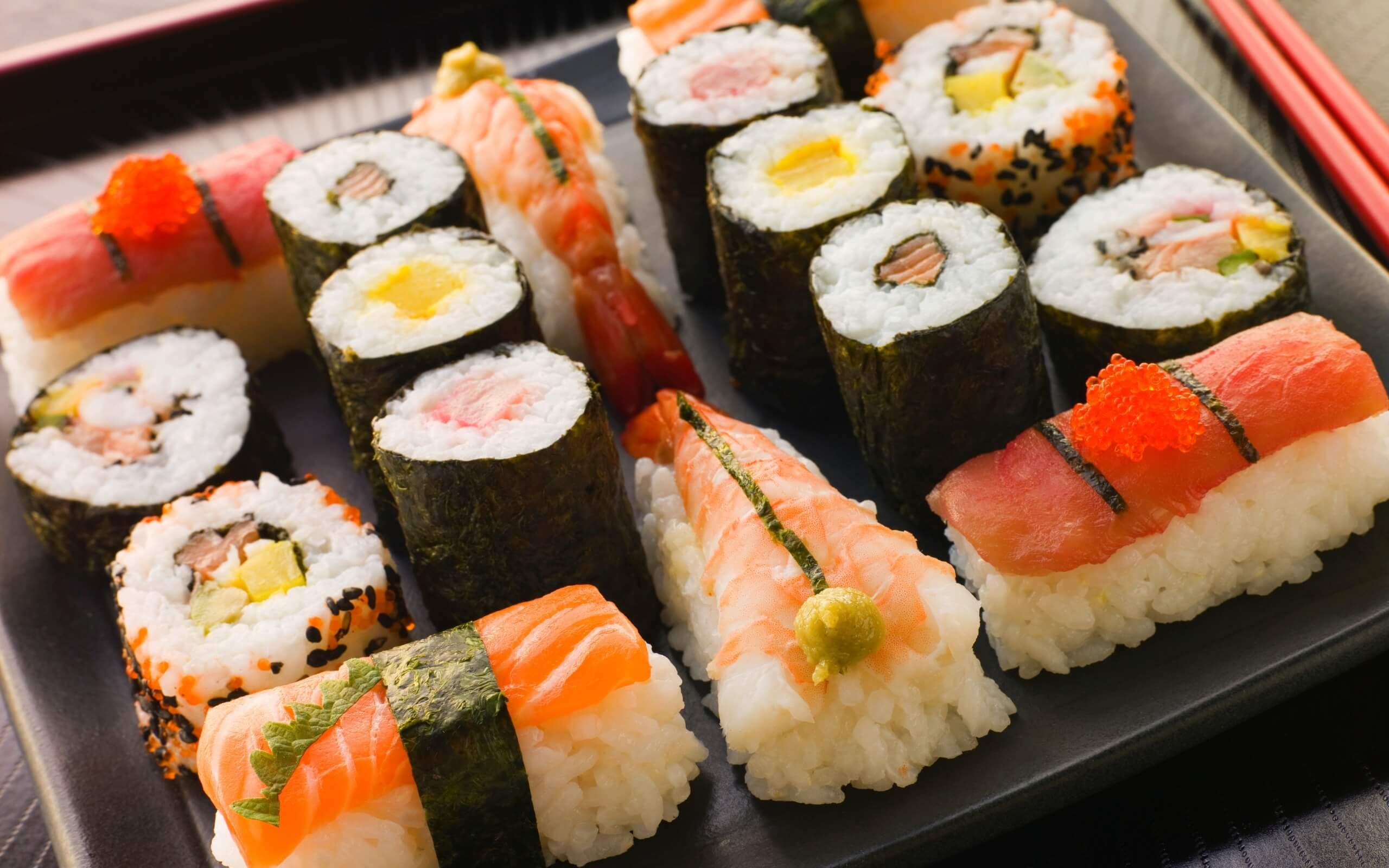 Японские суси: основные разновидности, особенности подачи, польза для организма