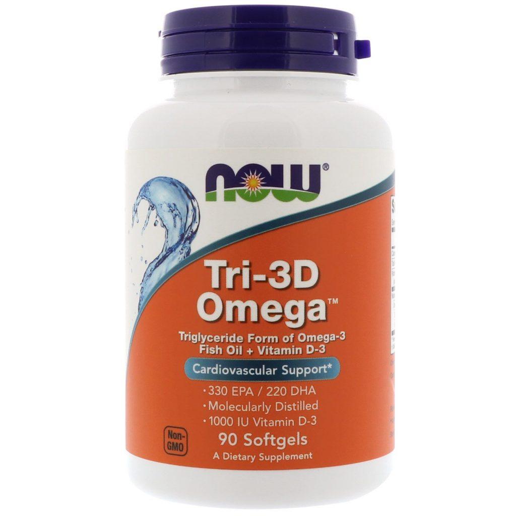 Omega 3 от Now Foods - лучшая замена рыбьему жиру