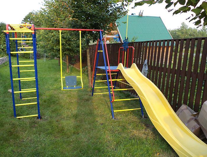 Игровой комплекс для дачного участка — лучшее развлечение для активных детей