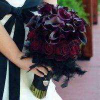 Притягательные и необычные букеты с чёрными цветами