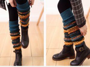 С чем носить гетры (гамаши)